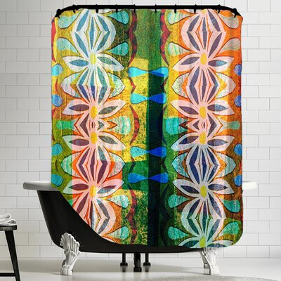 16B25 Blend Shower Curtain