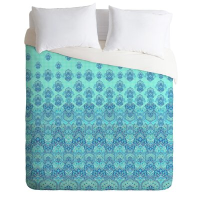 Aimee St Hill Farah Blooms Duvet Cover Size: Twin, Color: Gray