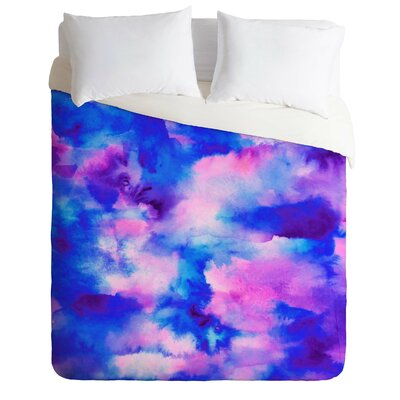 Someday Some Sky Duvet Cover Size: Queen