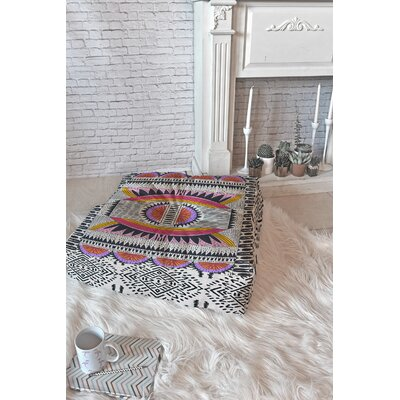 Holli Zollinger Floor Pillow Size: 23 H x 23 W x 7 D