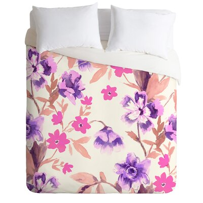 Jacqueline Maldonado Garden Journal Duvet Cover Size: King