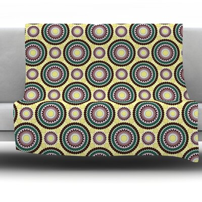 Patio Decor by Mydeas Fleece Throw Blanket Size: 60 L x 50 W