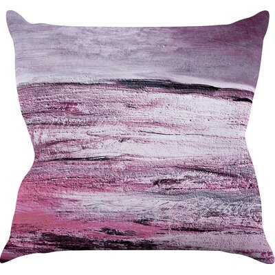 Sea Throw Pillow Size: 18'' H x 18'' W x 3