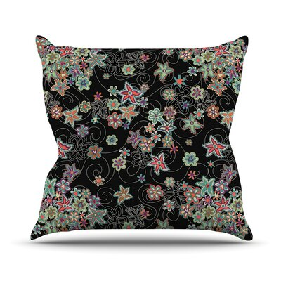 My Small Flowers Throw Pillow Size: 26 H x 26 W x 5 D