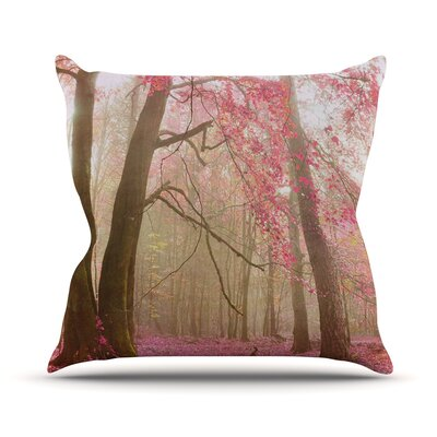 Atmospheric Autumn Throw Pillow Size: 16 H x 16 W x 3 D