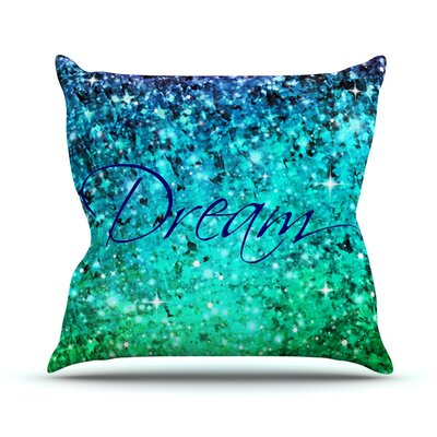 Dream Throw Pillow Size: 16 H x 16 W x 3 D