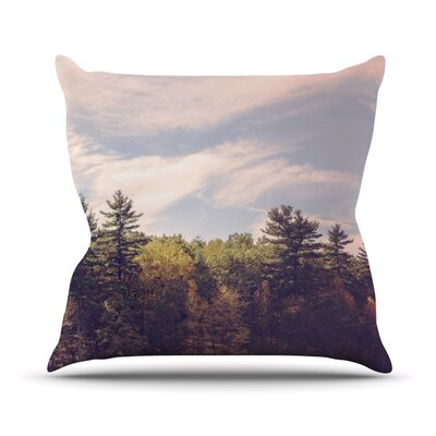 Woods Throw Pillow Size: 20 H x 20 W x 4 D