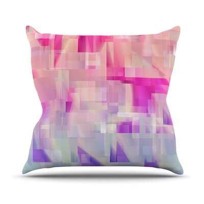Throw Pillow Size: 18'' H x 18'' W x 3