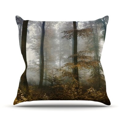 Forest Mystics Throw Pillow Size: 16 H x 16 W x 3 D