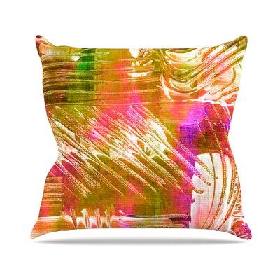 Flamenco Moves Throw Pillow Size: 16 H x 16 W x 3 D