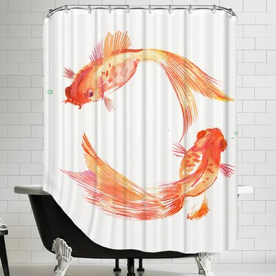 Goldfish Feng Shui Shower Curtain