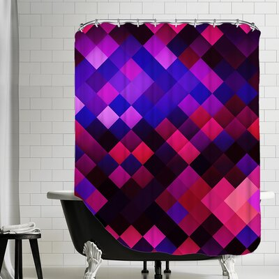 Colors of Pattern Shower Curtain