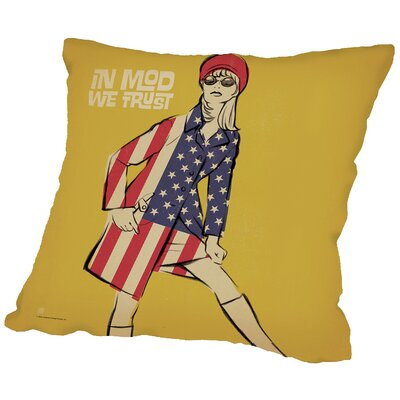 In Mod Wetrust Throw Pillow Size: 14 H x 14 W x 2 D
