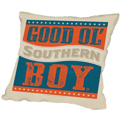 Goodolboy Throw Pillow Size: 14 H x 14 W x 2 D