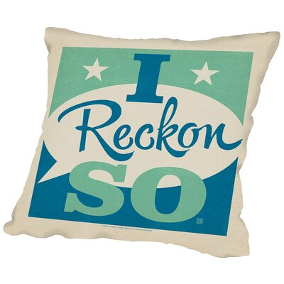 Ireckonso Throw Pillow Size: 14 H x 14 W x 2 D