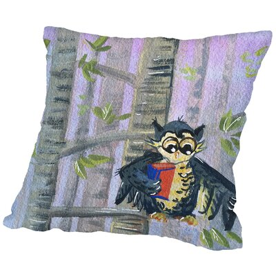 Devowl Throw Pillow Size: 18 H x 18 W x 2 D