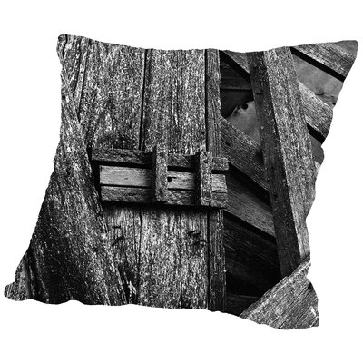 Deadbolt Throw Pillow Size: 14 H x 14 W x 2 D