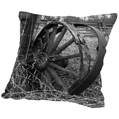 Derailed Throw Pillow Size: 18 H x 18 W x 2 D
