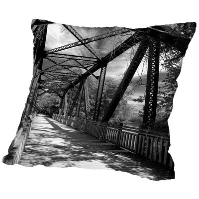 Iron And Vine Throw Pillow Size: 18 H x 18 W x 2 D