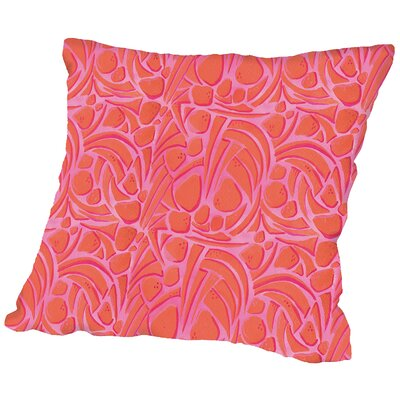 Dino Throw Pillow Size: 16 H x 16 W x 2 D