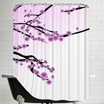 Cherry Blossom Sakura Shower Curtain