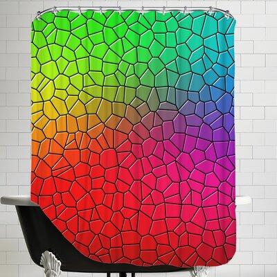 Mosaic Art Shower Curtain