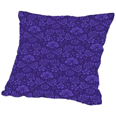 Wallpaper Throw Pillow Size: 16 H x 16 W x 2 D