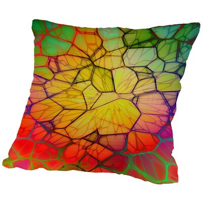 Mosaic Throw Pillow Size: 20 H x 20 W x 2 D
