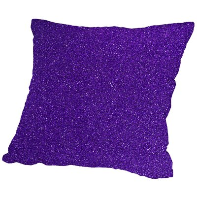 Sparkley Throw Pillow Size: 18 H x 18 W x 2 D