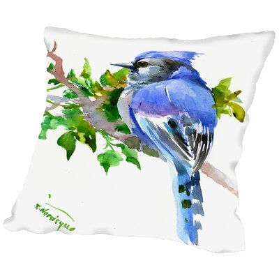 Jay Throw Pillow Size: 16 H x 16 W x 2 D