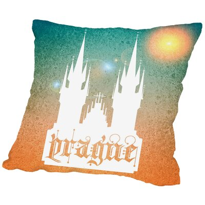 Prague Throw Pillow Size: 20 H x 20 W x 2 D