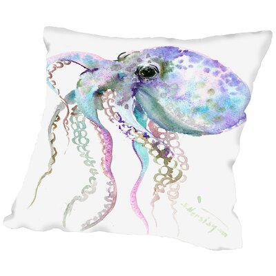 Octopus Throw Pillow Size: 18 H x 18 W x 2 D