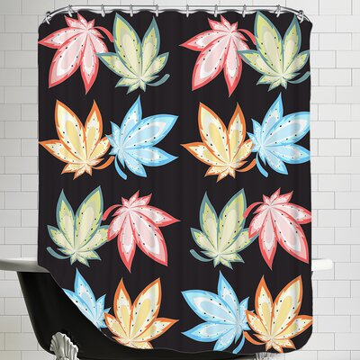 Leaf Nature Shower Curtain