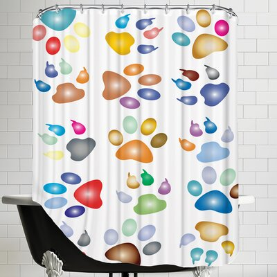 Pawn Animal Shower Curtain