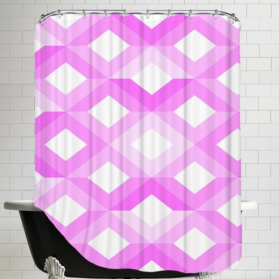 Geometric Shower Curtain