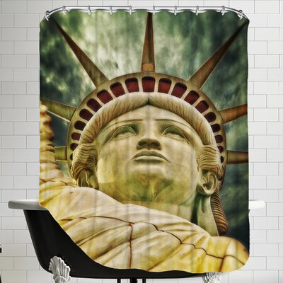 Liberty Statue US Shower Curtain