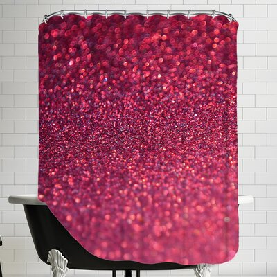 Sparkley Shiny Glamour Shower Curtain