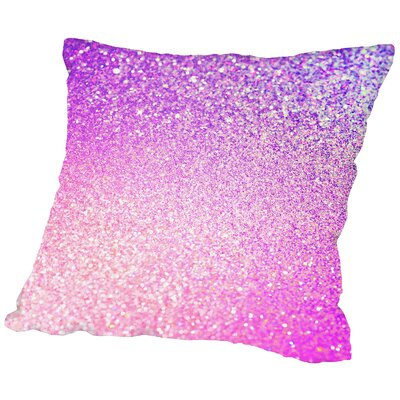 Luxury Glamour Indoor Throw Pillow Size: 14 H x 14 W x 2 D