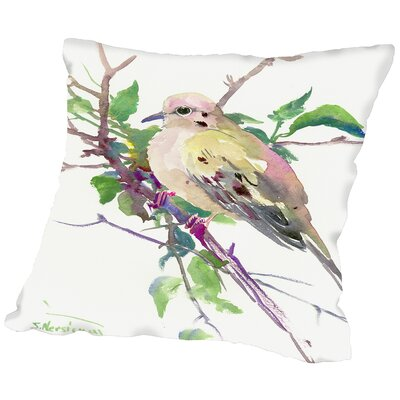 Mouring Dove Throw Pillow Size: 18 H x 18 W x 2 D