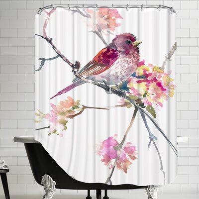 Rosefinch Shower Curtain