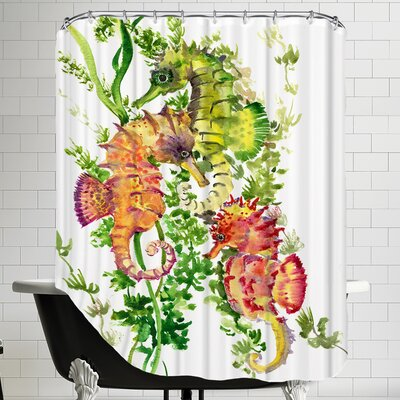 Sea Horses Shower Curtain
