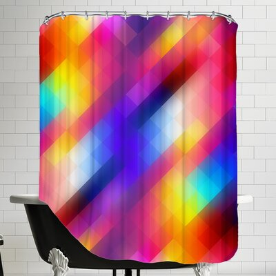 Spacy Shower Curtain