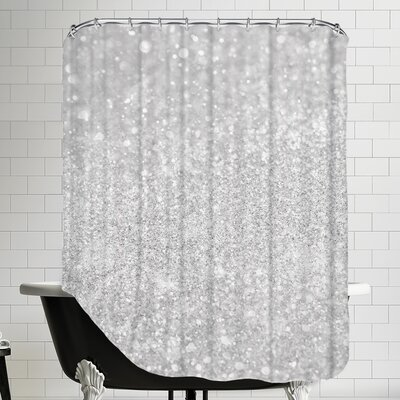 Shiny Glamour Luxury Shower Curtain