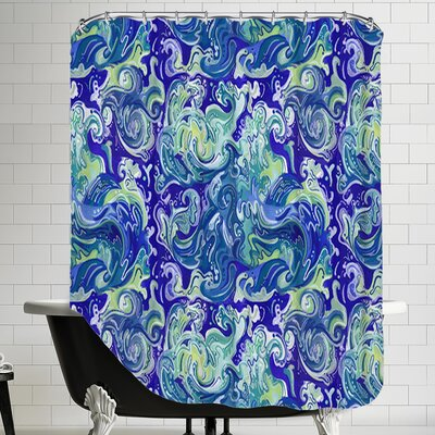 Wavetital Shower Curtain