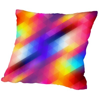 Spacy Throw Pillow Size: 18 H x 18 W x 2 D