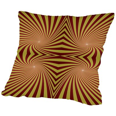 Spiral Throw Pillow Size: 14 H x 14 W x 2 D