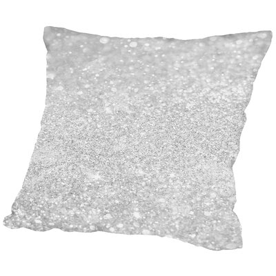 Shiny Glamour Luxury Throw Pillow Size: 14 H x 14 W x 2 D