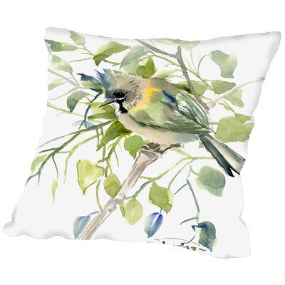 Yuhina Throw Pillow Size: 18 H x 18 W x 2 D