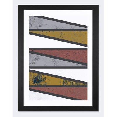 '90 Degree Triangles II' Graphic Art Print
