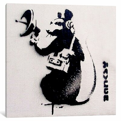 Spy Rat Painting Print on Wrapped Canvas ESHM7111 34328533